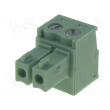 15EDGK-3.81-02P-14 терминал блок, шаг 3.81mm, 2pin, 8A 300V