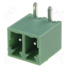 15EDGRC-3.81-02P-14 терминал блок, шаг 3.81mm, 2pin, 8A 300V