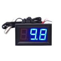 Термометр цифровой -50...+110°С DC5.0 ~ 12V с подсветкой и выносным датчиком 1м