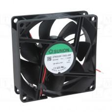 Вентилятор EE80252S1-000U-A99 24VDC, 1.8W, 41CFM, 33dBA, 3200RPM