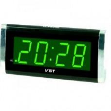 Настольные электронные сетевые часы-будильник VST-731-2