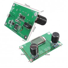 Плата в сборе FM-радиоприемник 87-108MHz с регулятором громкости 2x3W и LCD экраном