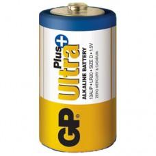 Батарейка GP Ultra plus Alkaline LR20 1.5V GP13AUP-2S2