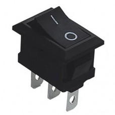 Переключатель KCD1-102 (ON-OFF), (3p), 6A 250VAC