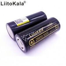 Aккумулятор LiitoKala Li-ion Lii-50A 26650 3.7V 5000mAh
