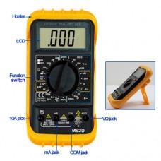 MS2138R многофункциональные цифровые токовые клещи (мультиметр)