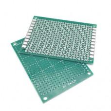 Плата монтажна одностороння 50x70mm шаг 2,54мм