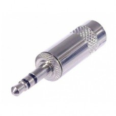 Штекер Jack стерео 3.5mm NYS231 металл на кабель