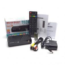 Цифровий ТБ ресівер World Vision T624D3 DVB-T2/C