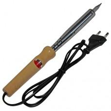 Электропаяльник WD-100W 220-240VAC деревяная ручка