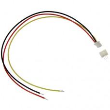 Штыревой разъем микро JST-GH-1.25mm 3-Pin шаг 1.25 28AWG комлект штекер + гнездо