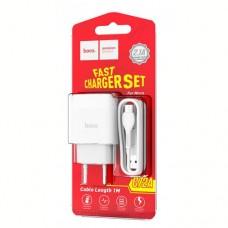 Зарядное устройство для планшетных и мобильных устройств AC110-240V, 50-60MHz 2USB 5V 1A UH202