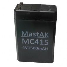 MastAK MC415 (4V1.5Ah/20hr) аккумулятор