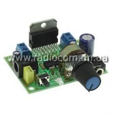 Радиоконструктор K192 стерео УНЧ 2х15Вт на TDA7297 с регулятором громкости
