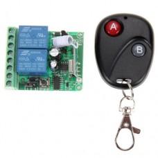 Дистанционное управление (переключатель и передатчик) 12VDC 10A 433MHz для ворот
