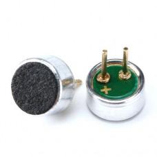 Микрофон электретный HM4522P-423-G 1.5-3V 0.5mA 2.2K Ohm 32-45dB с выводами