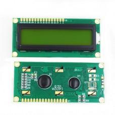 Индикатор LCM1602A Arduino на HD44780 желто-зеленый фон