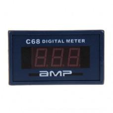 Амперметр цифровой C68 AC0-10A AC220V