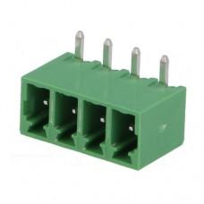 15EDGRC-3.5-04P-14-00AH терминал блок, шаг 3.5mm, 4pin, 8A 300V