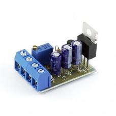 Радиоконструктор K212.1 (регулируемый стабилизатор напряжения Imax=10A Uin=3-27V)