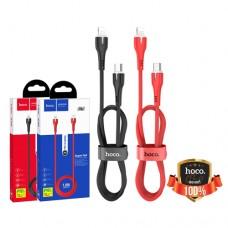 Кабель PD (быстрой зарядки) USB Type-C Lightning HOCO X45 Surplus 3A 18W 1m красный