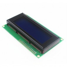 Индикатор LCM2004A Arduino на HD44780 синий фон