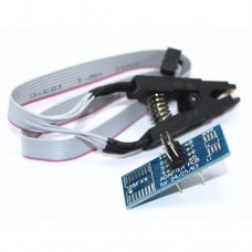 Адаптер-зажим для внутрисхемного программирования микросхем BIOS/24/25/93 в корпусе SOIC8 SOP8
