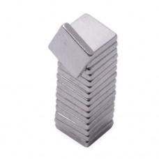 Магнит неодимовый NdFeB N42 5x5x1mm вес 0.2 г, сила 300г квадрат
