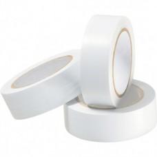 Изоляционная лента ПВХ 0.15мм x 18мм белая 10м