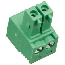15EDGK-3.5-02P-14-00A(H) терминал блок, шаг 3.5mm, 2pin, 8A 300V