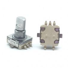 Энкодер механический EnCoder RE11 (EC11) RE110  импульсов 30 переключений высота штока 12.5мм