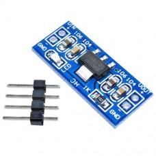 Импульсный модуль питания DC-DC понижающий на AMS1117-5V-MODUL DC-DC Input: DC6-12V Output: DCV 800mA