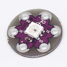 Светодиодный модуль круглый на WS2812B RGB 5050 для Arduino