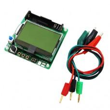 Универсальный тестер на ATmega328 диоды, транзисторы, тиристоры, емкость конденсаторов 25pF ~ 100mF, индуктивность, генератор сигналов, частотомер  3.7A