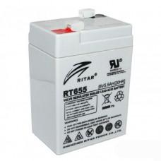 RITAR RT655 AGM (6V5.5Ah/20hr) аккумулятор