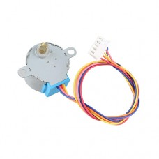Електродвигун постійного струму 12VDC 24BYJ48 4 фази 5pin для кондиціонерів