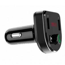 FM модулятор (трансмиттер) HOCO DE1 Bluetooth 2.1A