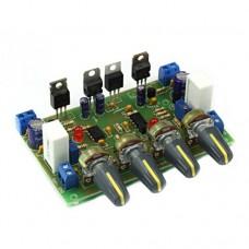 Радиоконструктор M234 лабораторный блок питания двухполярный U=+/-14-35V, 0... 2A