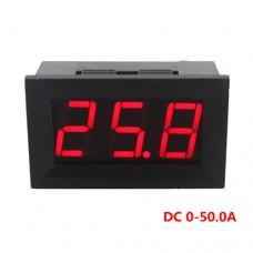 Амперметр цифровой C27D 4.5-28VDC 0-50A