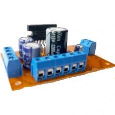 Плата 2x13W+26W на TDA8510J(TDA8512J) трехканальный УНЧ