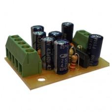 Плата в сборе микрофонный усилитель для электретного и электродинамического микрофонов на LA3161