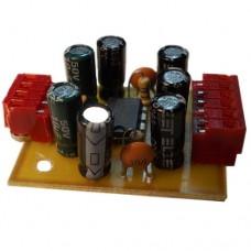 Плата в сборе стерео-усилитель мощности ЗЧ 2x1W или моно 1.5W на KA2209 (TDA2822M)