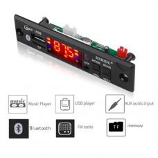 Модуль FM радио KAM000047 автомобильный аудио Bluetooth USB/MP3/AUX/TF с пультом дистанционного управления