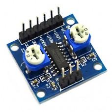 Аудио усилитель мини модуль PAM8406 стерео 2х5W с регуляторами громкости