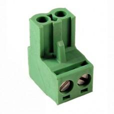 KLS2-EDK-500-02P-2 терминал блок, шаг 5.0mm, 2pin, 15A 300V