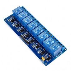 Модуль релейный Arduino PIC AVR MCU DSP ARM 8-канальный 5V