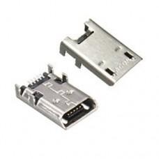 Micro USB-F розетка на плату для Asus Memo Pad FHD 10 K001 K013 102A ME301T ME302C ME372 ME301T ME180 ME102