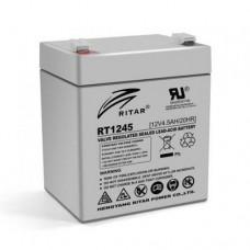 RITAR RT1245 (12V 4.5Ah/20hr)  аккумулятор
