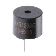 Звуковипромінювач KXG1203C 5V 85dB 30 mA 1900Hz-2.7kHz з генератором