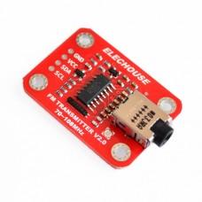 FM-модуль V2.0 для аудио микрофона на Arduino 70-108MHz 3.0-5.0VDC